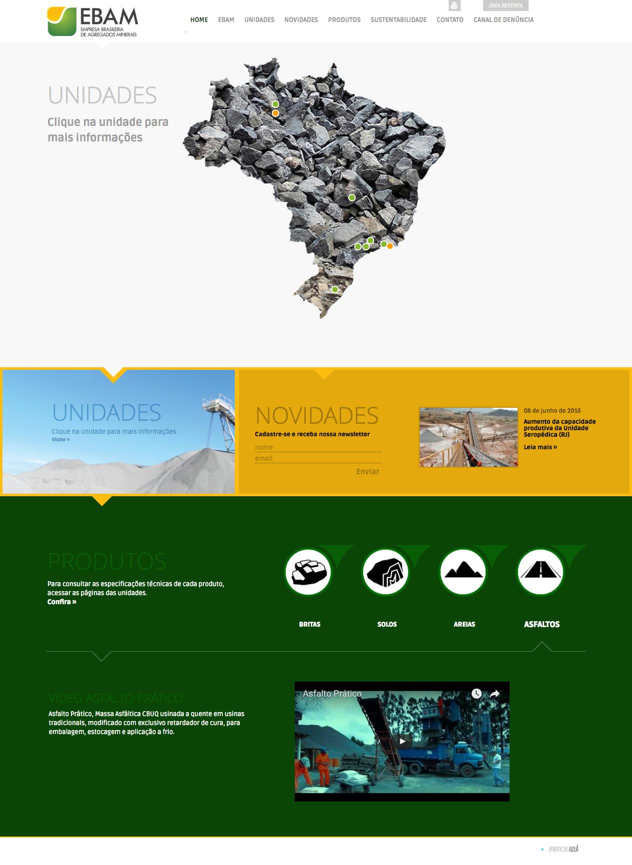 EBAM – Empresa Brasileira de Agregados Minerais