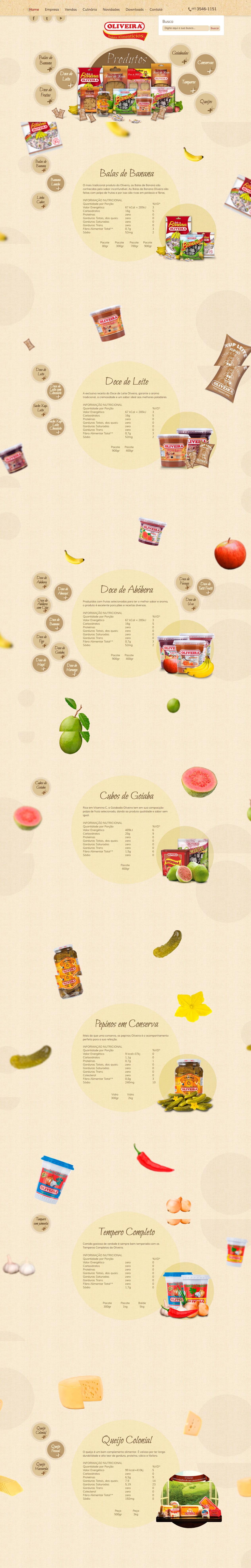 Oliveira Produtos Alimentícios